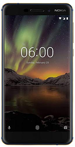 (CERTIFIED REFURBISHED) Nokia 6.1 (2018) (3GB + 32GB, Blue-Gold)