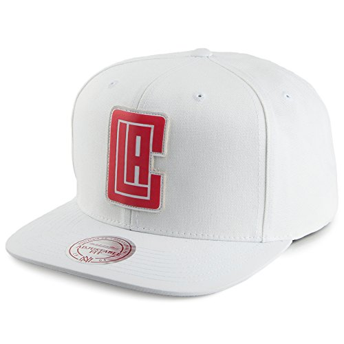 Casquette Snapback NBA Serve L.A. Clippers blanc MITCHELL & NESS Blanc