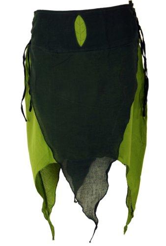 Zipfelrock Elfen Rock / kurze Röcke, alternative Bekleidung von Guru-Shop