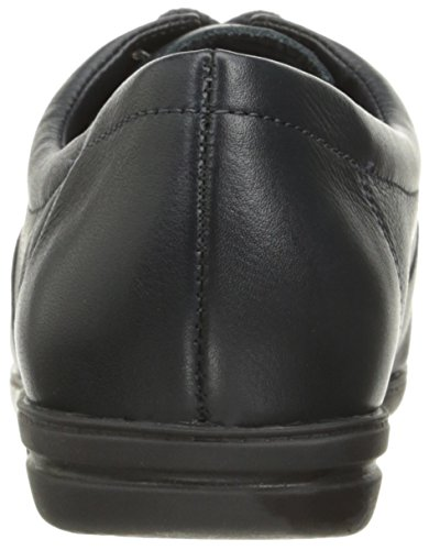 Easy Spirit Women's Motion Sport Lace Up,Navy Leather,10 D Navy