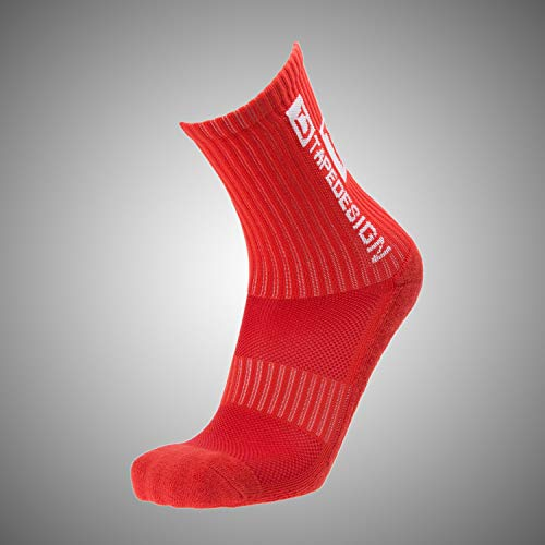Tapedesign Allround Classic Socken, red, One Size