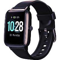 Reloj Inteligente Mujer,Smartwatch Hombre Impermeable IP68 Pulsera Actividad 1.3 Pulgada con Monitor de Ritmo cardíaco, Podómetro, Reloj Actividad para Xiaomi Huawei iPhone
