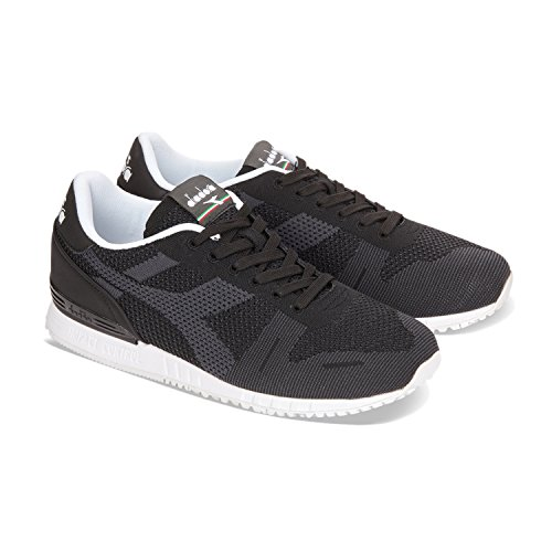 Diadora Unisex-Erwachsene Titan Weave Sneaker Low Hals 80013 - SCHWARZ