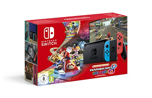 Console Nintendo Switch Mario Kart 8 Deluxe (Code de téléchargement du jeu inclus)