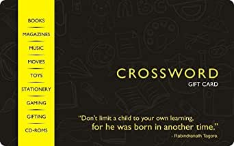 Crossword Gift Card - Rs.250
