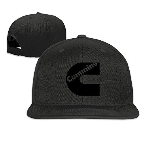 hittings-black-cummins-cool-flat-baseball-hats-black