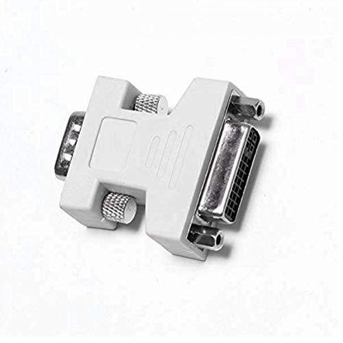 TOSSPER DVI auf VGA Buchse/Stecker Video-Konverter-Adapter