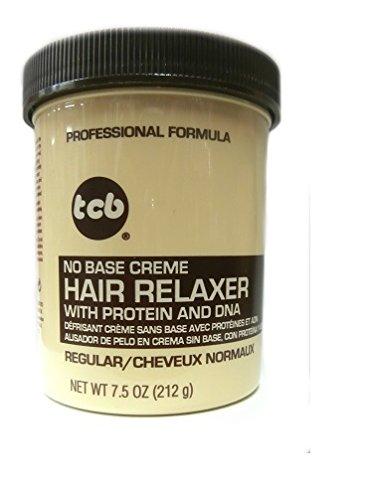 Base Creme Hair Relaxer (Relaxer / Glättungscreme TCB No Base Creme Hair Relaxer REGULAR - NORMAL 212g)