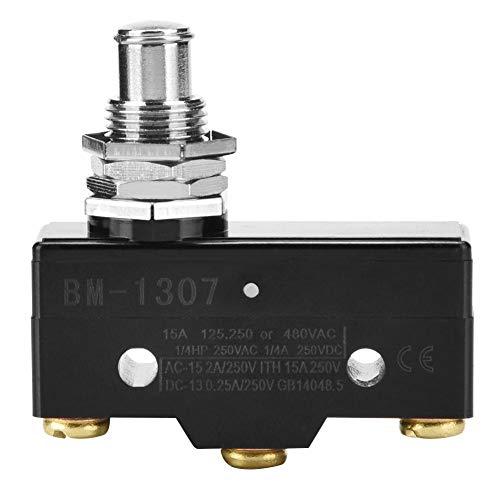 Mikroschalter Momentary End Switch Große Stromart Endschalter Silberkontakte Miniatur-Schnappschalter BM-1307 / - Endschalter Mikroschalter