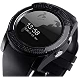 Coolpad V8 Smart Watch With Camera || Smart Watch With Memory Card|| Smart Watch With Sim Card Support ||fitness Tracker|| Bluetooth Smart Watch||Wrist Watch Phone|| Smart Watch With Facebook. Whatsapp|| 4G Smart Watch||Any Color ||Best In Quality|| Compa