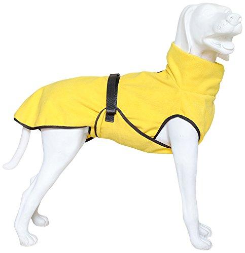 EQDOG 382-772 Doggy Dry Hundebademantel, XXS, gelb