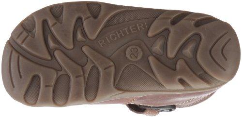 Richter Terrino, Sandales mixte enfant - Rouge-TR-A4-57 Beun/chocolat
