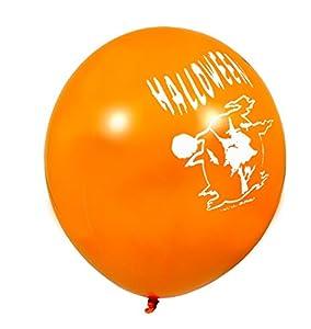 Ciao 30391-Sobre 100globos impresas Halloween