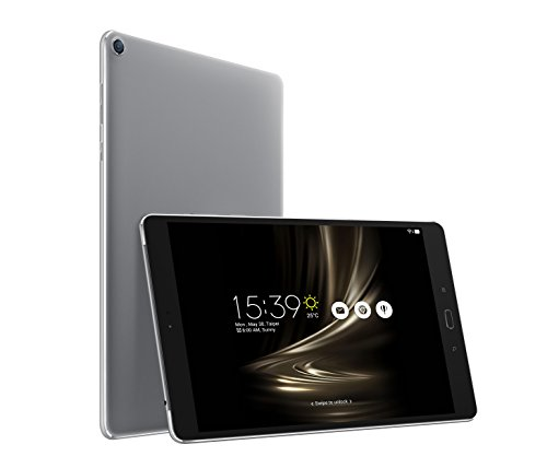 Asus ZenPad 3S 10 Z500M-1H041A 24,6 cm (9,7 Zoll 2K Display) Tablet-PC (MediaTek 8176 Hexa-Core, 4GB RAM, 128GB Datenspeicher, Android 6.0) grau