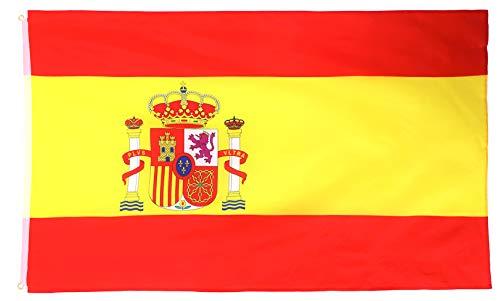 Star Cluster 90 x 150 cm | Spanien Flagge | Spanien Fahne | Fanartikel | Spain National Flag (ES 90 x 150 cm) -