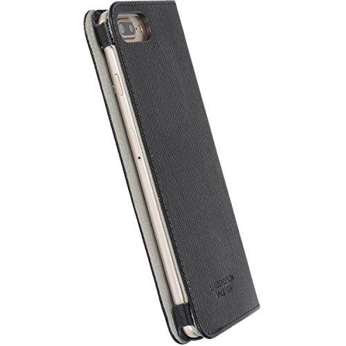 Krusell Malmo Etui folio pour iPhone 7Plus–Noir noir