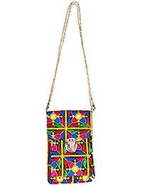 Craft Trade Handmade Flower Print Shoulder Bag