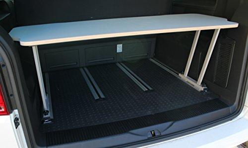 Bus-Boxx T5/T6 Multivan Multiflexboard Konsolen 51cm T-Stück + Flexboard Flex -