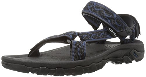 TevaHurricane Xlt - sandalo dorso-chiusura strap uomo Blau (wavy trail insi.blue 938)