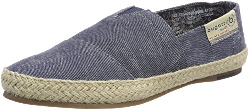 Bugatti Herren 321497606900 Slipper, Blau (Dark Blue), 45 EU