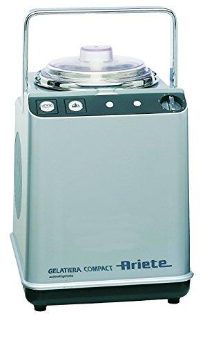 Ariete Gelatiera Compact turbina per gelato, in acciaio Inox