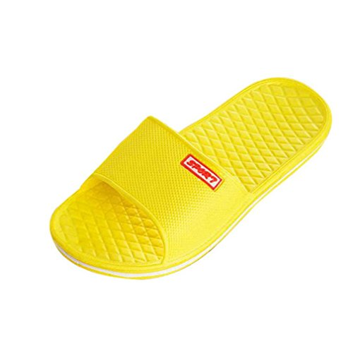 Bovake Bout Ouvert Femme Jaune