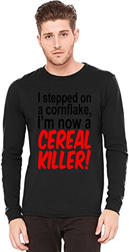 i-stepped-on-a-cornflake-im-now-a-cereal-killer-slogan-a-maniche-lunghe-t-shirt-long-sleeve-t-shirt-