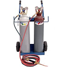 B-BRAZE Kit 14 - kit professionale per saldatura ossiacetilenica