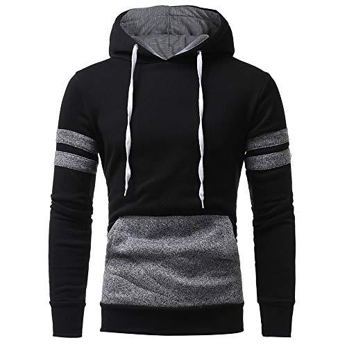 JiaMeng Heißer Männer Langarm Top Shirts Outwear Hoodie Kapuzen Sweatshirt Tops Jacke Mantel