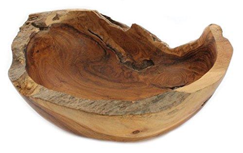 Windalf Früchte & Obstschale MIA b: 20 cm Handarbeit aus Wurzelholz