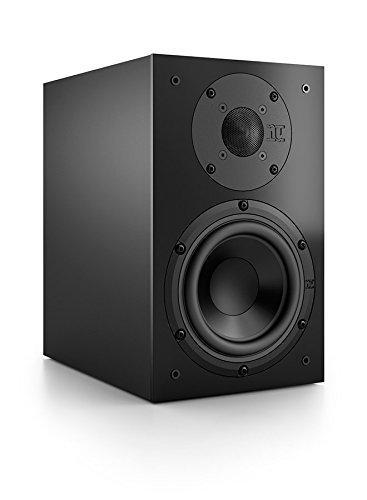 Nubert nuBox 313 Regallautsprecher I 2 Wege Lautsprecher Box mit Hifi Qualität I Heimkino & Musik genießen mit dem Nubert Kompaktlautsprecher (15,0 cm Tieftöner, 2,5 cm Hochtöner) I Schwarz I 1 Stück