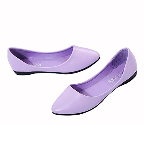 ALSYIQI - Ballet donna Purple