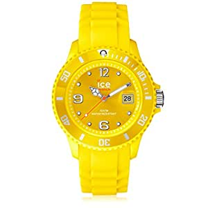 Ice-Watch - ICE forever Yellow - Men's (Unisex) wristwatch with silicon strap - 000147 (Large)