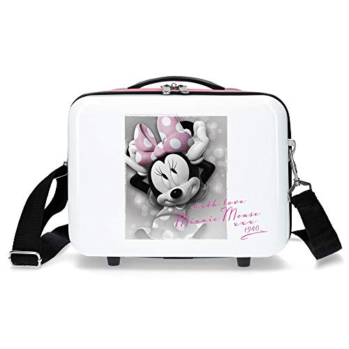 Disney Style Beauty Case da viaggio 29 centimeters 9.14 Bianco (Blanco)