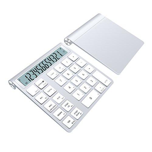 Teclado-Numrico-y-Calculadora-Bluetooth-Alcey-con-2-Pilas-AAA-para-Teclado-Inalmbrico-Apple