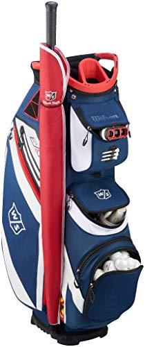 WILSON Herren W/S EXO CART NAWHRD Golftaschen, Navy/White, One Size -