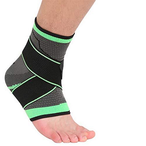 sfycstd Tutore Caviglia Fascia di Sostegno per Fitness Pallacanestro Tennis Supporto Antiscivolo alla Caviglia Super Traspirante Elastico Supporto per Caviglia da Uomo e Donna
