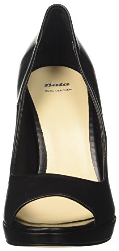 BATA 7246721, chaussures à bouts ouverts femme Noir