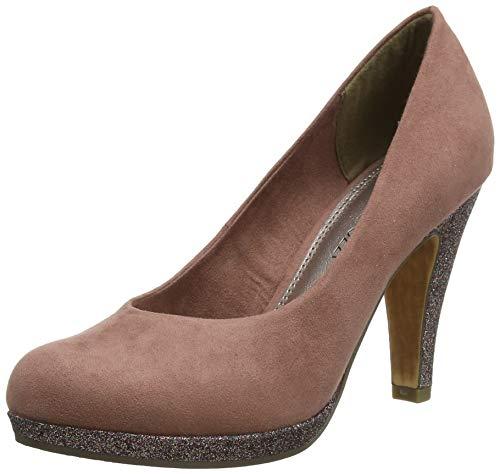 Marco Tozzi 2-2-22441-33, Zapatos con Plataforma para Mujer, Rosa Old Rose Comb 559, 38 EU