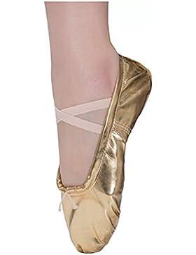 Dreamone Zapatos de Ballet Zapatillas de Danza Gimnasia Yoga Para Niña Mujer