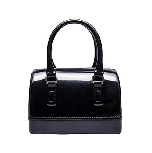 Handtaschen Kissen Tasche Tasche Süßigkeiten Tasche Handtasche Einfache Atmosphäre Elegant Black