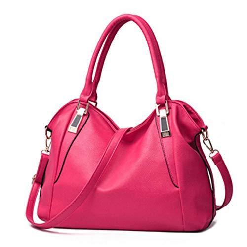 Shopping Frauen Schulter Umhängetaschen Handtaschen Rose One Size