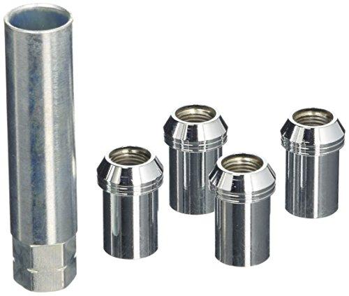 Mc GARD 25258 Tuner Roue Écrous de verrouillage, Chrome, Dia 20,2 mm