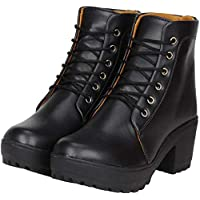 SILVER CAT Latest High Heel Long Ankle Boots Look for Womens and Girls