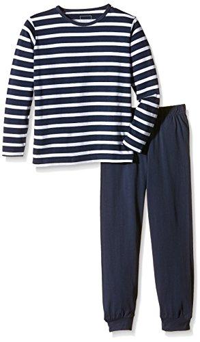NAME IT Baby-Jungen Zweiteiliger Schlafanzug NITNIGHTSET K B NOOS,  Gr. 122, Mehrfarbig (Dress Blues)