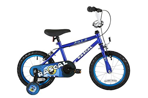 Sonic Rascal Kids' Kids Bike Blue 1 speed colour cordinated spoked wheels fully enclosed chainguard and easy reach brakes Best Price and Cheapest