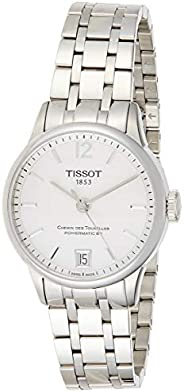 Tissot Mens Automatic Watch, Analog Display and Stainless Steel Strap T099.207.11.1227.27