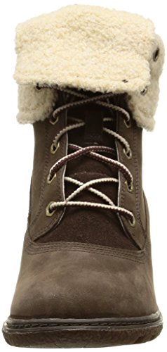 Timberland Amston Ftw_amston Roll Top, Bottes Classiques femme Marron (dark Brown)