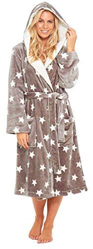Slumber Hut Dames et Filles Robe de Chambre Luxe Polaire Encapuchonné Correspondant à Tailles Enfants et Adultes - Adultes EUR 40-42