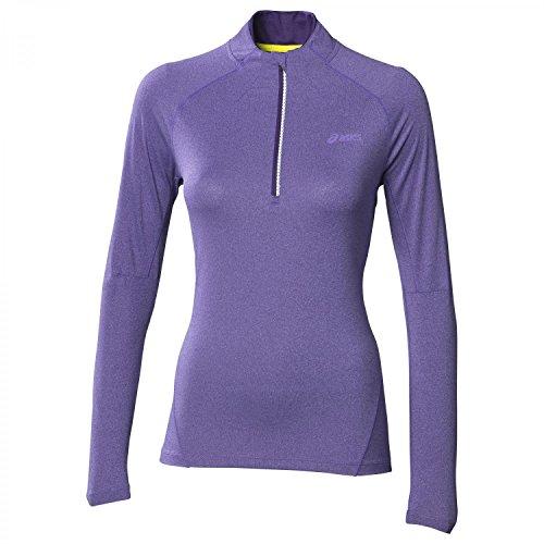 asics-jersey-half-zip-manches-longues-womens-t-shirt-course-a-pied-xl